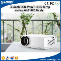 GP 9S mini portable projector with LED lamp 500 lms for game home theater support 1080P video