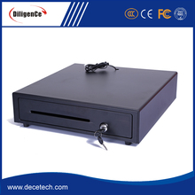 Stainless steel Safe cash drawer with 3 option lock