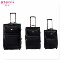 Brand new 2012 new and hot luggage special pu trolley luggage with laptop set leather travel bags multiple colors