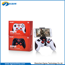 2017 Top sale controller pc joystick bluetooth gamepad S5