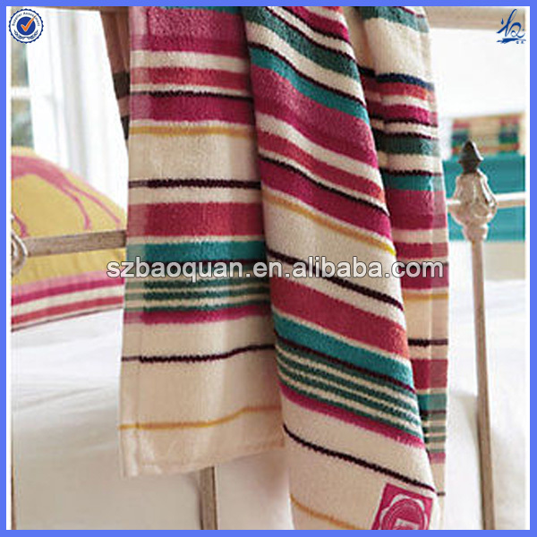 wholesale striped terry towelling fabric made in china