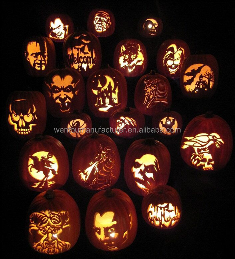 Personalized Hand Carving Foam Pumpkins For Halloween