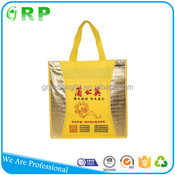 Cheap multifunction foldable advertising promotion non-woven bag