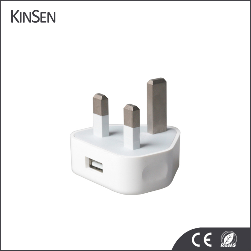 100% Original UK Plug 5V 1A USB Wall Charger For iPhone iPad