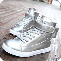 2016hot sale light fashion dunk high light shoes led men wholesales shoes