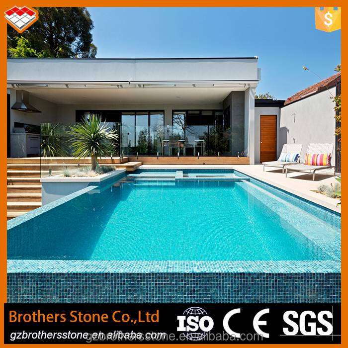 china manufacturing swimming pool tile crystal glass mosaic good color mosiac tile