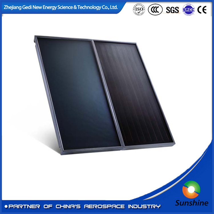 flat plate solar water system solar thermal collector for solar water heater