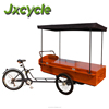hot food van electric tricycle for coffee delivery