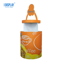 Coffee Drink Cup Cardboard Display Stand Made In China High Fashion Protein Drink Display Rack Joy shaker Cup Display Stand