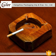 Creative superior beautiful personality wooden ashtray