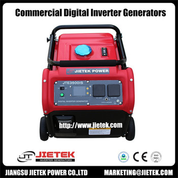Single phase pure wave JTE3500iS 3000w inverter generator with LCM control