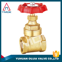 Applicable up to and developed flow of certified international brass gate valves toyo
