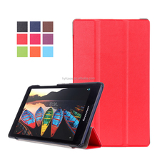 flip over case for lenovo tab 2 a8-50 leather case for lenovo tab3 850F