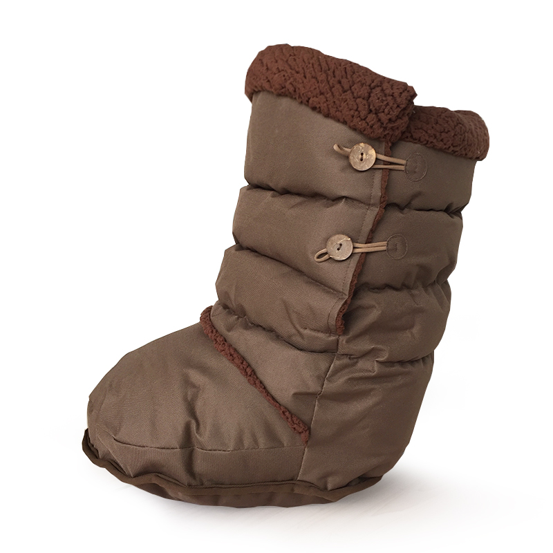 Fashion Winter Warm Berber Fleece Boot For Household Work