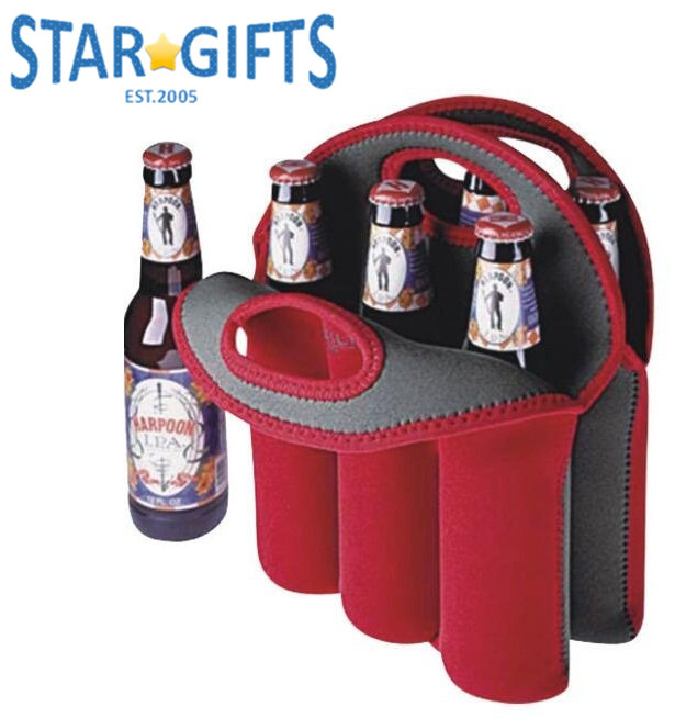 2017 Picnic Heavy Duty Portable Insulated Folding Beer Neoprene 6 Bottle Wine Bag