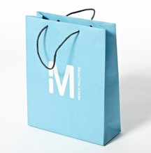 2015 wholesale decorative fashion gift recycle paper bag with logo