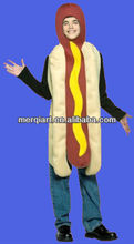 Funny kids Unisex Hot Dog Costume