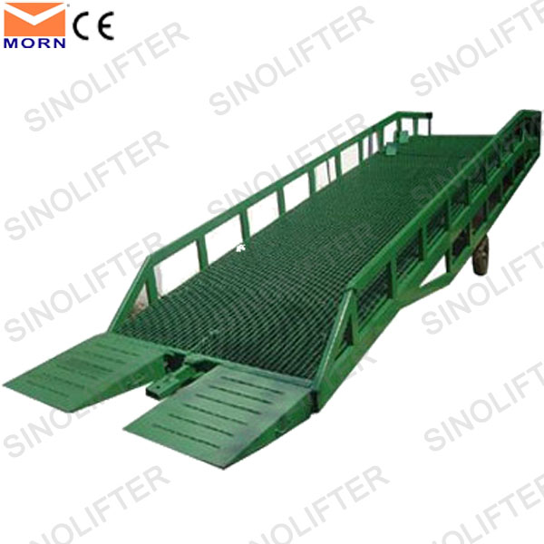 6-15t hydraulic ramps for forklift