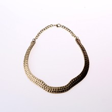 Girl dresses snake shape new design necklet accessories for women