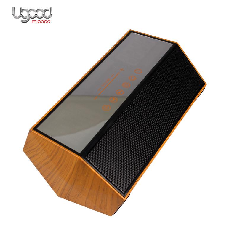 Venda quente 2017 Amazon Golden Square Speaker Bluetooth Com Microfone