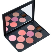 waterproof and sunscreen 8 color blush for daily modified face