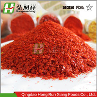 crushed air dried red chilli