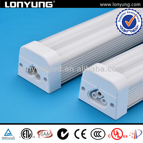 T5 fixed integrated dual light 50000hrs ETL TUV CE SAA C-TICK t5 fluorescent tube lamp long life span
