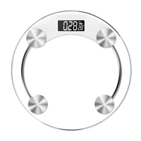 Hot Sale Ultra Slim Glass Electronic Bathroom Scale