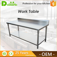 wholesale kitchen utility table/stainless steel restaurant working table
