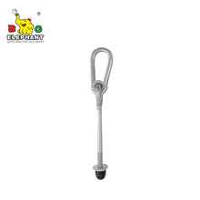 Cheap Galvanized Metal Swing Beam Hanging <strong>Hook</strong> for Wooden Swing Set