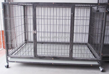 Wholesale Dog Cages Double Door Metal Dog Crate With Multiple Sizes D1280B