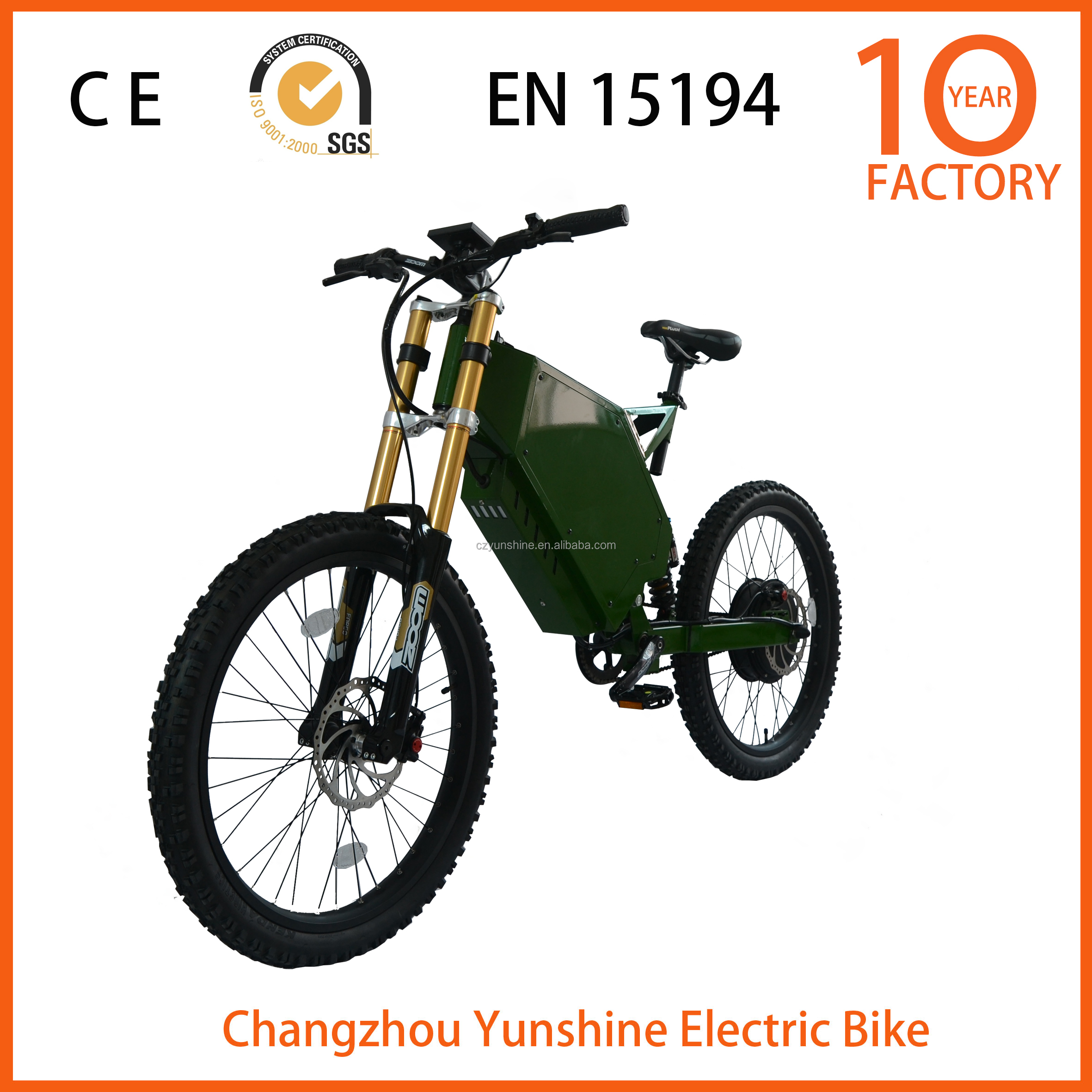 Changzhou Yunshine bing motor electric motorcycle, electric bike 72v 1000w with better service