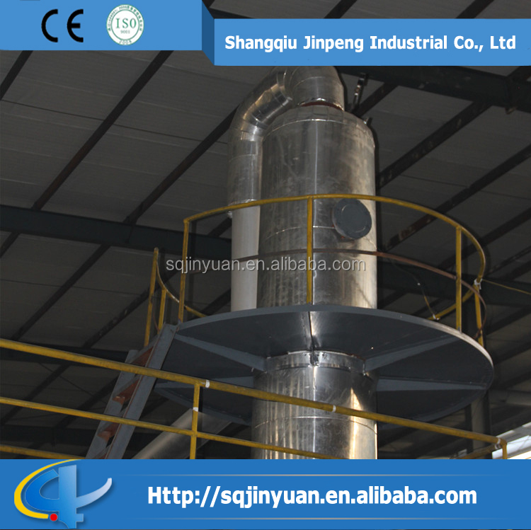 Tyre Recycle Refining Tire Pyrolysis Oil Distillation Machine