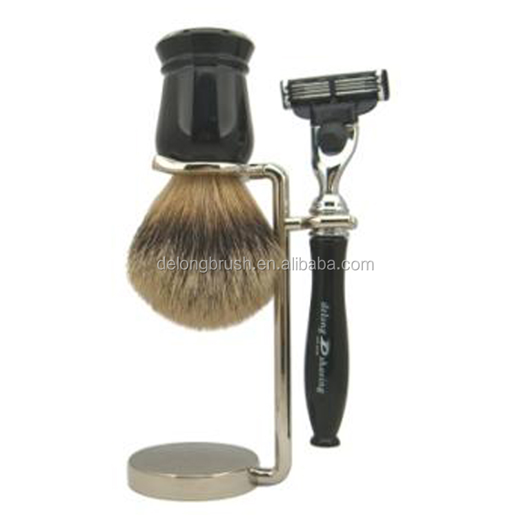 Shaving Brush and Razor Sets