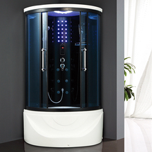 HS-SR025 hot sale smart glass shower/shower cubicle with steam/indoor steam shower room