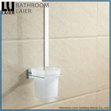 17650-CP wholesale zinc alloy soft feeling bathroom accessories wall mounted toilet