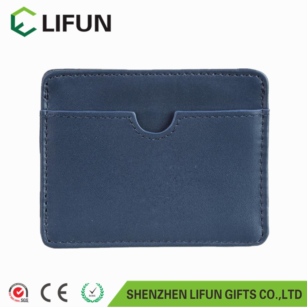2017 Faux Leather Slim Thin Credit Card Holder Mini wallet ID Case Wallet/Leather Credit card Case