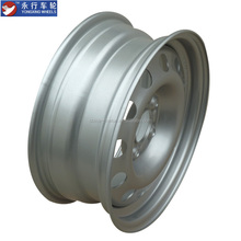 Popular 4 Hole And Silver Finishing Small Wheel Rims