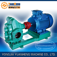 gear type oil suction pump for oil transfer with self priming, 110V/220V/380V