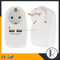 Universal travel adapter 3500W 50/60HZ portable usb charger