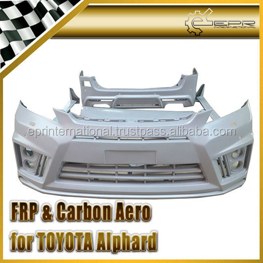 For Toyota Vellfire 12~ WD Style Fiber Glass Full Body Kit