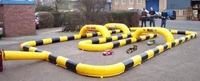 inflatable race kids toy cars race track