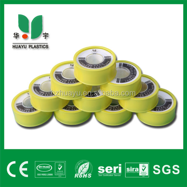 "3/4"" 19mm ptfe thread tape leak proof seals for water faucet used"