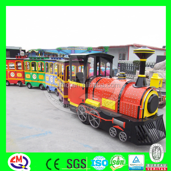 Low price attractions shopping mall kids amusement indoor train for sale