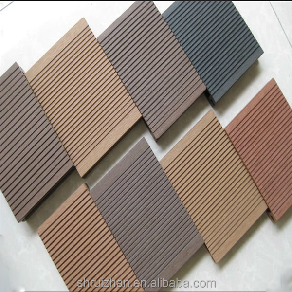 150*25mm Plastic Composite Decking Board WPC Decking