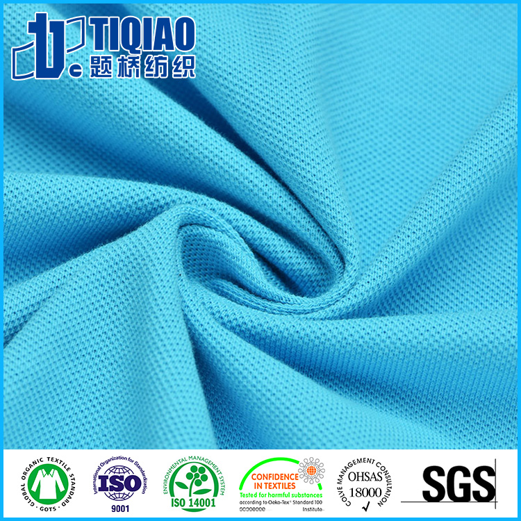High Quality China Suppliers Polo Shirt Fabric