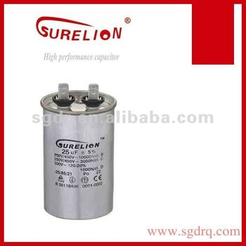 air conditioning capacitor CBB65 with resistance