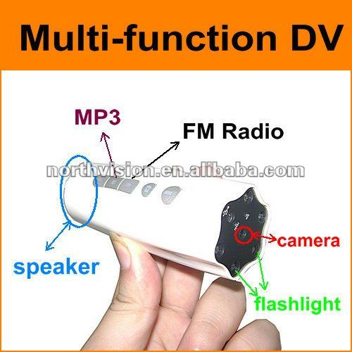 multifunction flashlight dv hd outdoor sports camera