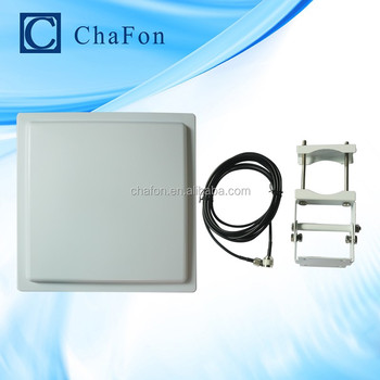 uhf vertical rfid long distance antenna with 12dbi gain can connect with UHF fixed reader used for warehouse management
