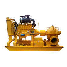 Single stage double suction horizontal split case centrifugal pump